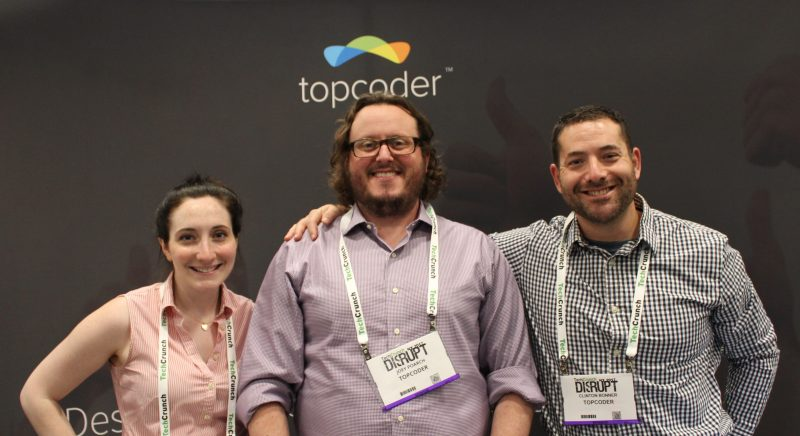 Some of the team from topcoder