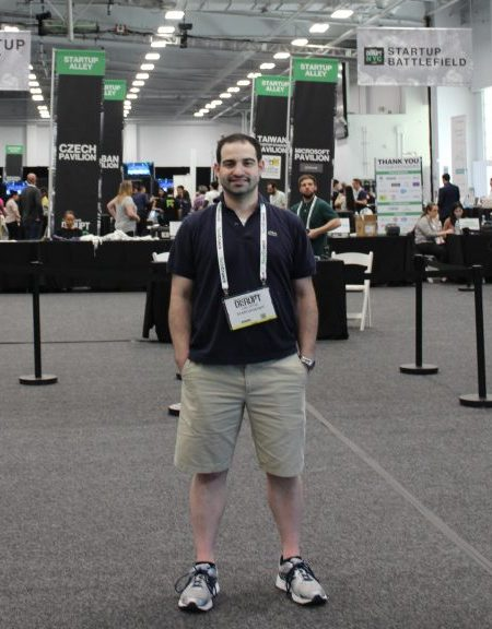 Carl Potak, Founder of StartupDevKit, at TechCrunch Disrupt NYC