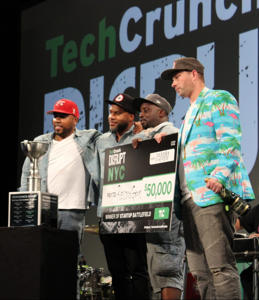 RecordGram wins the $50,000 competition in the TechCrunch Disrupt Startup Battlefield