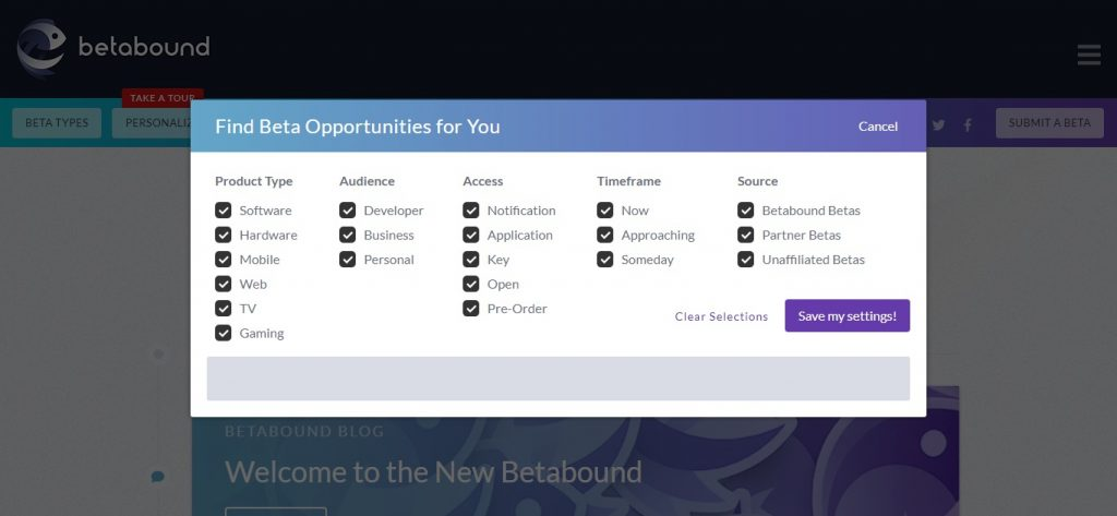 betabound desktop beta testing service. Desktop and mobile app beta testing sites