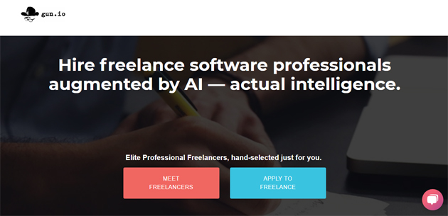 Gun freelance developers website marketplace