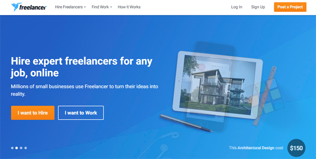 freelance marketplace websites