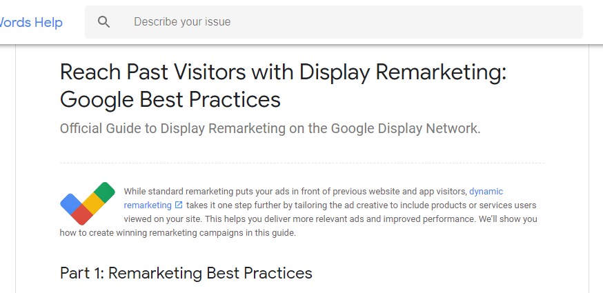 Google Retargeting with Display ads - lead generation strategies