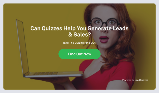lead quizzes quiz for startup lead generation and email list building