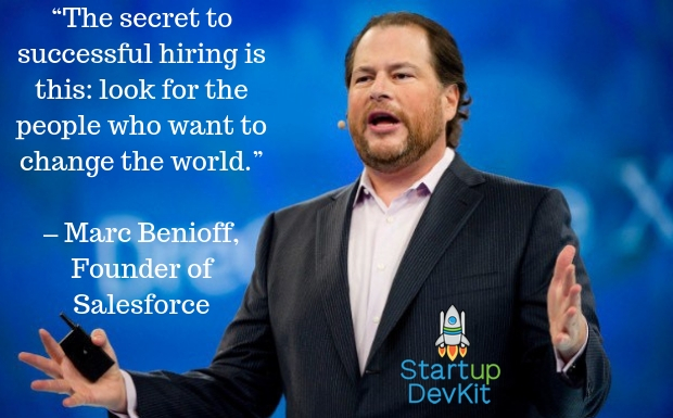 startup quote: